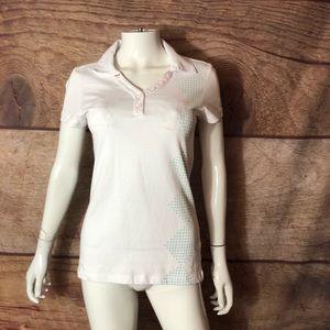 Nike Golf Women's Polo Size Small White